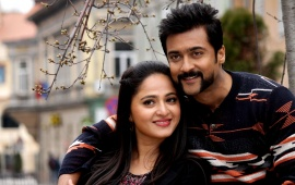 Suriya And Anushka Shetty In S3 2017