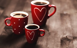 Sweet Coffee Cup Romantic