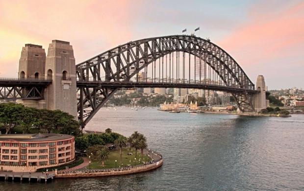 Sydney harbour bridge sunset wallpapers sydney harbour bridge sunset click to view altavistaventures Choice Image