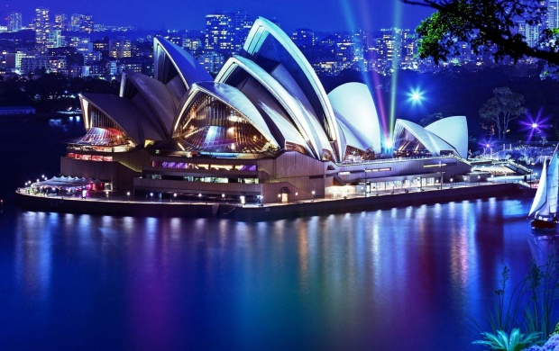 Sydney Opera House At Night, Australia (click to view)