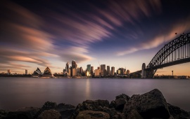 Sydney Skyline And Architecture