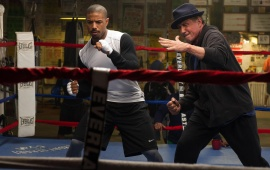 Sylvester Stallone And Michael B. Jordan Creed
