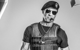 Sylvester Stallone In The Expendables 3 2014