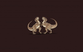 T-Rex Cat Fight