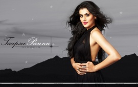 Taapsee Pannu In Black Dresses