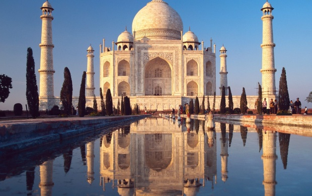 Taj Mahal India (click to view)
