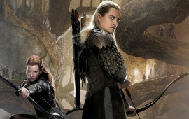 Tauriel Legolas In The Hobbit 2