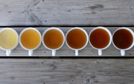 Tea Colors Brown