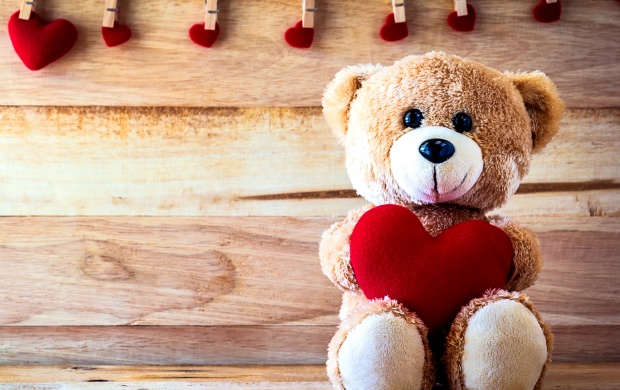 Teddy Love Heart (click to view)