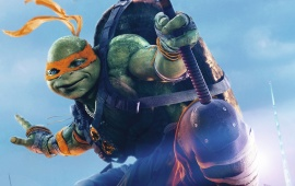Teenage Mutant Ninja Turtles Half Shell Michelangelo