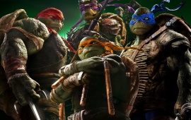 Teenage Mutant Ninja Turtles New Poster