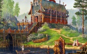 Temple Sventovida Painting