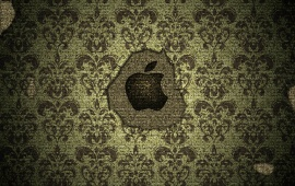 Texture In Apple Logo
