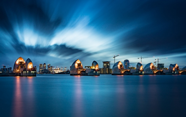 Thames Lights At Night (click to view)