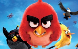 The Angry Birds Movie Bule Sky