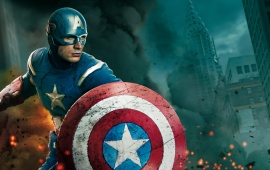 The Avengers Movie 2012 In Captain America