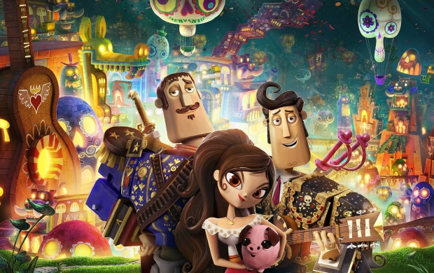 The Book Of Life Poster (click to view)