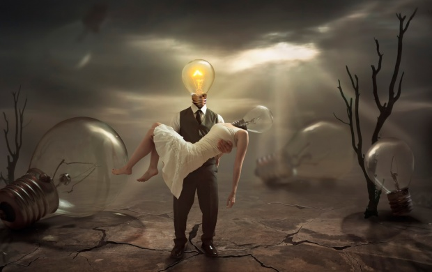 The Extinguished Lamp Fantasy Art (click to view)
