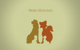 The Fox And The Hound Art