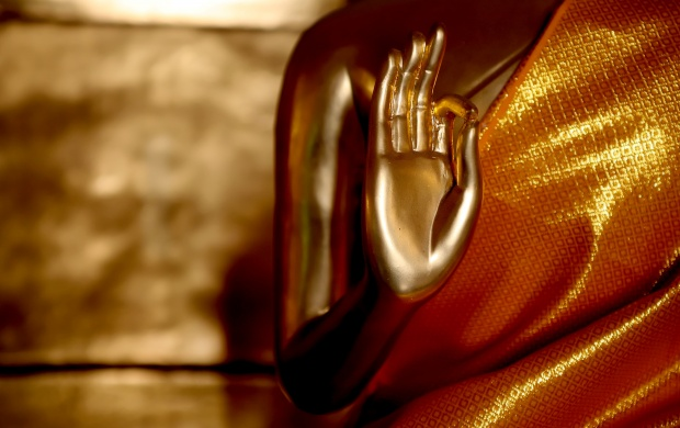 The Golden Light Of The Gautama Buddha (click to view)