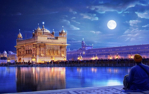 The Golden Temple Punjab (click to view)
