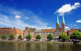 The Hanseatic City Of Lubeck