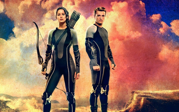 The Hunger Games Catching Fire Katniss Peeta (click to view)