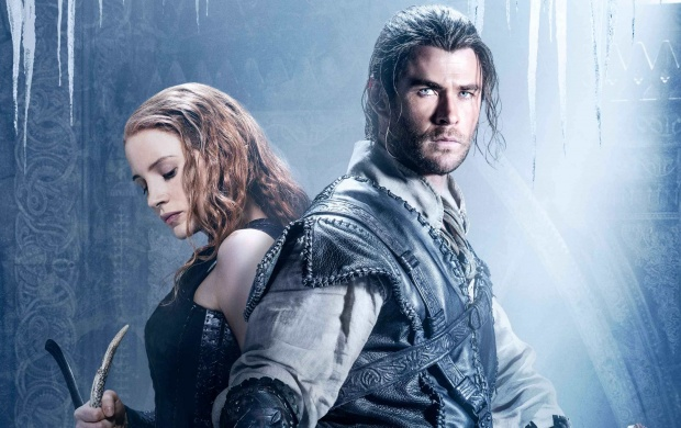 The Huntsman Winters War Poster (click to view)