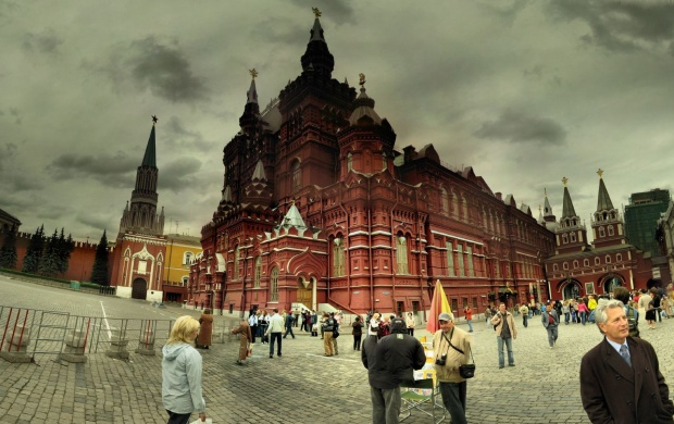 The Kremlin Moscow Russia (click to view)