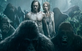 The Legend Of Tarzan And Gorilla Poster