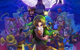 The Legend Of Zelda Majora's Mask 3D 2015