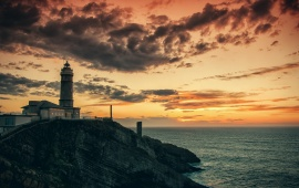 The Lighthouse Morning Dawn