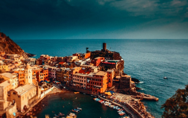 The Ligurian Coast (click to view)