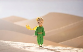 The Little Prince In The Desert