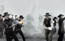 The Magnificent Seven 2016 Seven Mercenaries