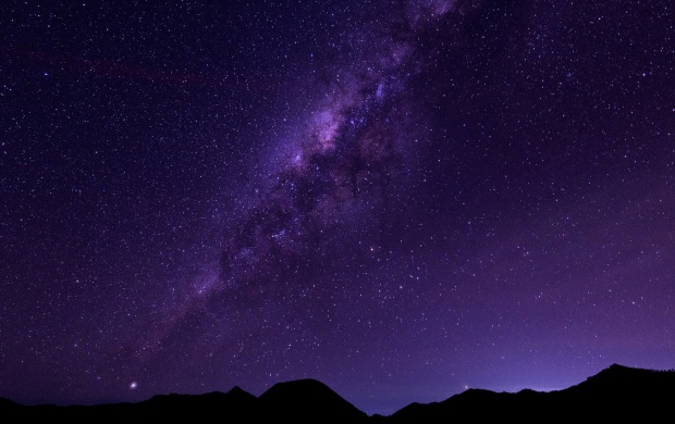 The Milky Way Stars Space (click to view)