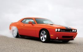 The orange dodge