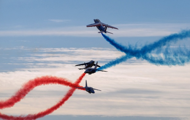 The Plane Aerobatics (click to view)