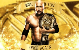 The Rock WWE Champion