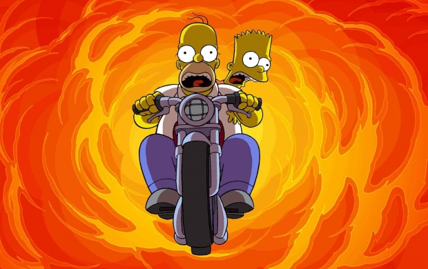 The Simpsons Motorcycles (click to view)