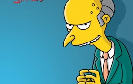 The Simpsons Mr Burns