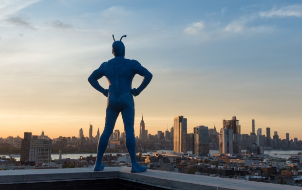 The Tick Amazon Pilot First Look (click to view)