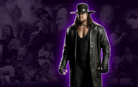 The Undertaker Purple