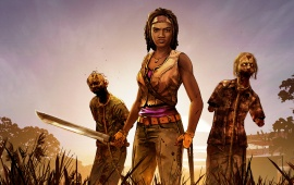 The Walking Dead Michonne 2016