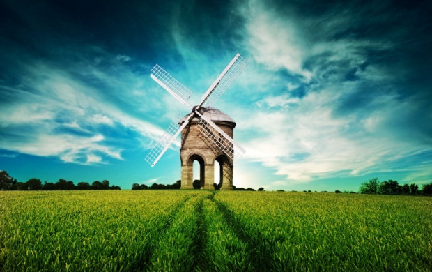 The Windmill Farm (click to view)