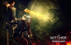 The Witcher 2 Assassins Of Kings Geralt And Triss