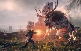 The Witcher 3: Wild Hunt Killing Monsters