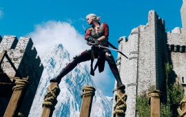 The Witcher 3 Ciri Training