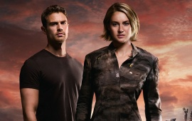 Theo James And Shailene Woodley The Divergent Series