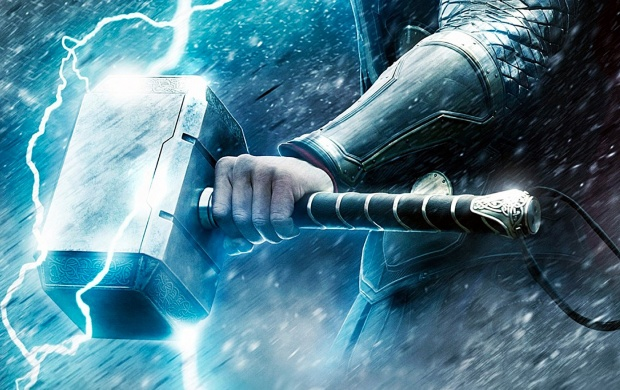 Thor Hammer Lightning (click to view)